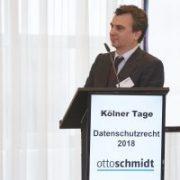 Karl H. Lincke hält Vortrag über die Umsetzung der DSGVO in Spanien